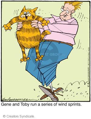 Comic Strip Jerry Van Amerongen  Ballard Street 2011-02-02 cat owner