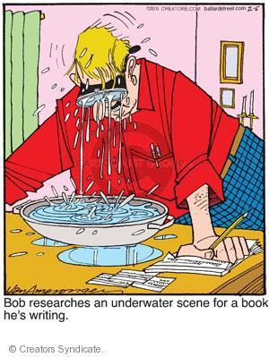 Comic Strip Jerry Van Amerongen  Ballard Street 2011-02-05 author