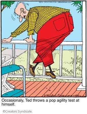 Comic Strip Jerry Van Amerongen  Ballard Street 2011-03-28 himself