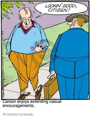 Comic Strip Jerry Van Amerongen  Ballard Street 2011-04-05 greet