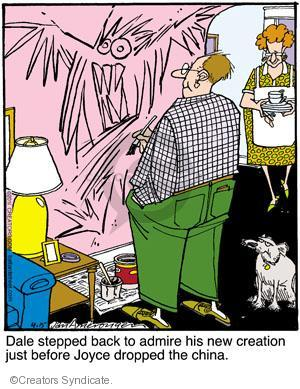 Comic Strip Jerry Van Amerongen  Ballard Street 2011-04-15 Dale
