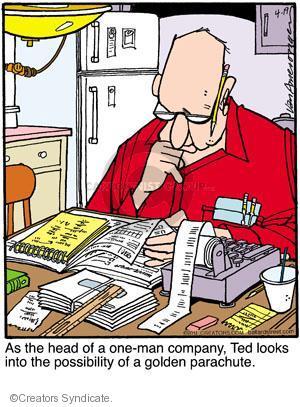 Comic Strip Jerry Van Amerongen  Ballard Street 2011-04-19 employment