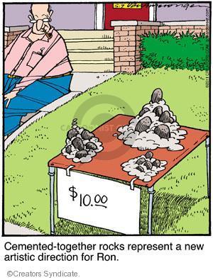 Cartoonist Jerry Van Amerongen  Ballard Street 2011-05-07 direction