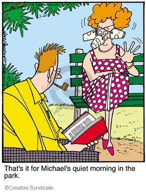 Comic Strip Jerry Van Amerongen  Ballard Street 2011-05-20 quiet