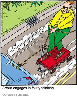 Comic Strip Jerry Van Amerongen  Ballard Street 2011-06-22 wagon