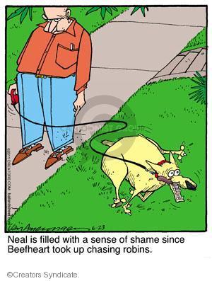 Comic Strip Jerry Van Amerongen  Ballard Street 2011-06-23 behavior