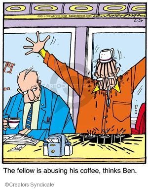 Comic Strip Jerry Van Amerongen  Ballard Street 2011-06-24 over
