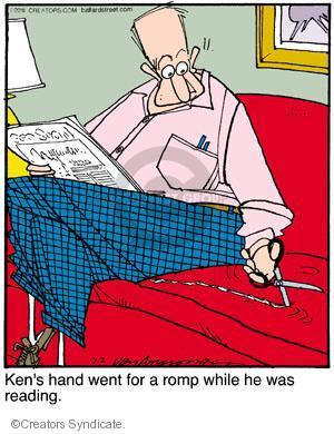 Comic Strip Jerry Van Amerongen  Ballard Street 2011-07-02 unconscious