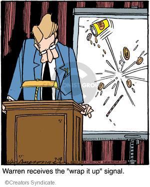 Comic Strip Jerry Van Amerongen  Ballard Street 2011-07-18 wrap