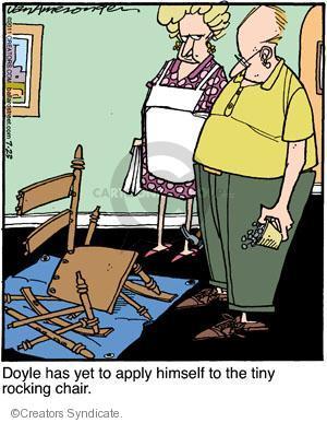 Comic Strip Jerry Van Amerongen  Ballard Street 2011-07-23 avoid