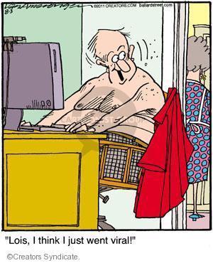Comic Strip Jerry Van Amerongen  Ballard Street 2011-08-03 share