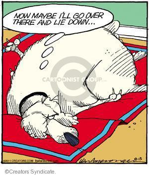 Comic Strip Jerry Van Amerongen  Ballard Street 2011-08-13 over