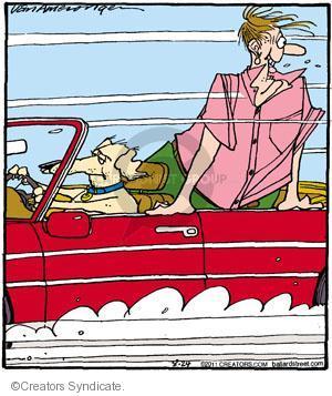 Comic Strip Jerry Van Amerongen  Ballard Street 2011-08-24 behavior