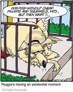 Comic Strip Jerry Van Amerongen  Ballard Street 2011-08-27 philosophy
