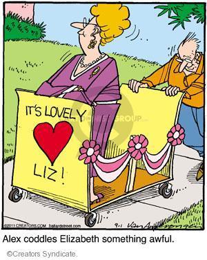 Comic Strip Jerry Van Amerongen  Ballard Street 2011-09-01 spoil