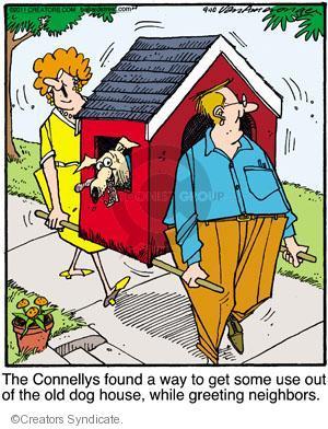 Comic Strip Jerry Van Amerongen  Ballard Street 2011-09-10 get old
