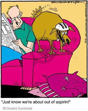 Comic Strip Jerry Van Amerongen  Ballard Street 2011-09-21 behavior