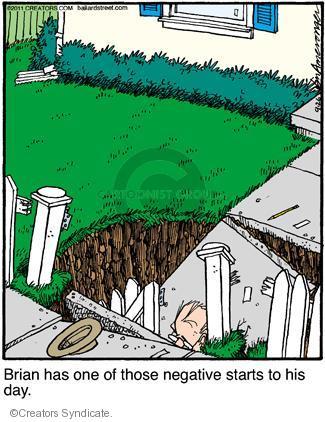 Comic Strip Jerry Van Amerongen  Ballard Street 2011-09-26 one