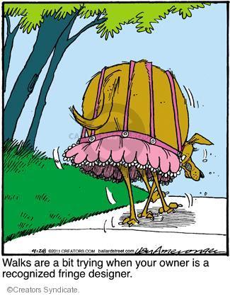 Comic Strip Jerry Van Amerongen  Ballard Street 2011-09-28 clothing