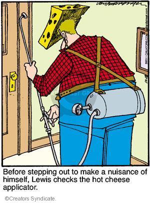 Comic Strip Jerry Van Amerongen  Ballard Street 2011-10-18 nuisance