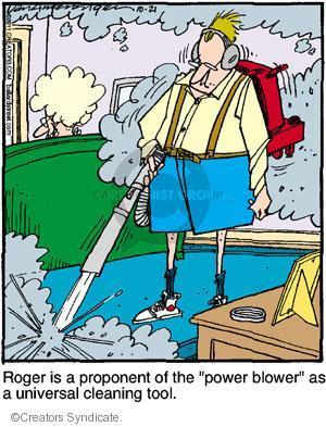 Comic Strip Jerry Van Amerongen  Ballard Street 2011-10-21 forceful