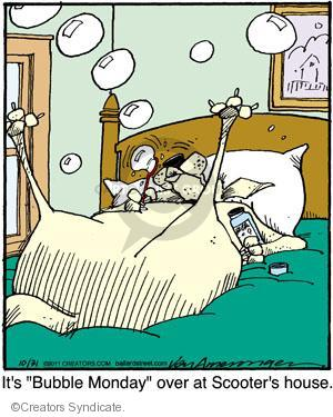 Comic Strip Jerry Van Amerongen  Ballard Street 2011-10-31 over