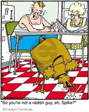 Comic Strip Jerry Van Amerongen  Ballard Street 2011-11-03 dislike