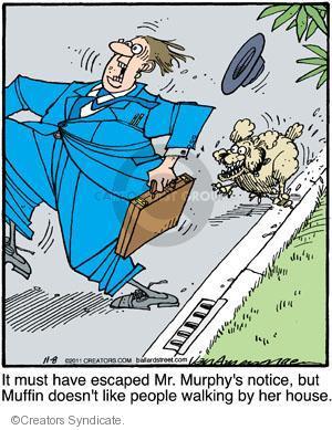 Cartoonist Jerry Van Amerongen  Ballard Street 2011-11-08 dog
