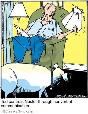 Cartoonist Jerry Van Amerongen  Ballard Street 2011-11-10 dog training