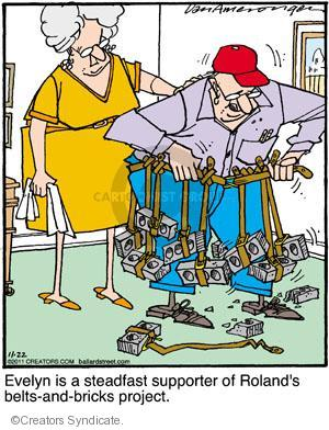 Cartoonist Jerry Van Amerongen  Ballard Street 2011-11-22 hobby