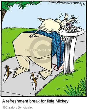 Comic Strip Jerry Van Amerongen  Ballard Street 2011-11-29 spoil