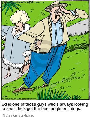 Comic Strip Jerry Van Amerongen  Ballard Street 2011-12-06 viewpoint