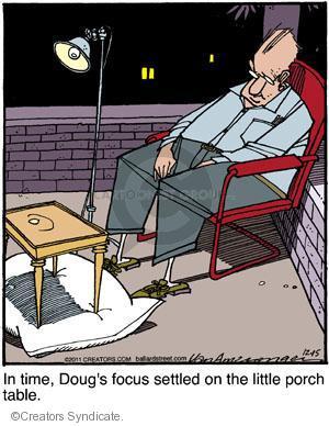 Cartoonist Jerry Van Amerongen  Ballard Street 2011-12-15 focus