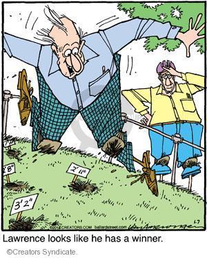 Cartoonist Jerry Van Amerongen  Ballard Street 2012-01-07 game