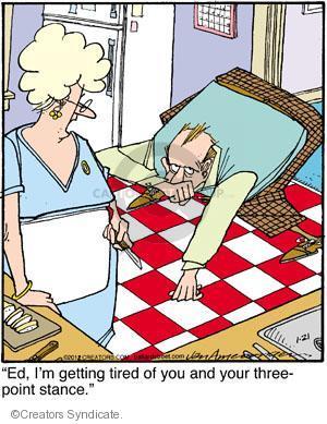 Comic Strip Jerry Van Amerongen  Ballard Street 2012-01-21 position