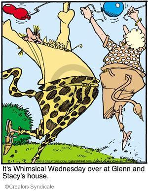 Comic Strip Jerry Van Amerongen  Ballard Street 2012-02-01 over