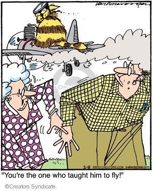 Comic Strip Jerry Van Amerongen  Ballard Street 2012-02-08 one