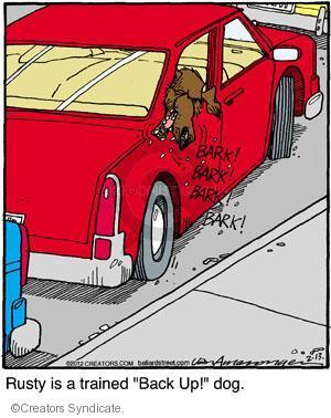 Cartoonist Jerry Van Amerongen  Ballard Street 2012-02-13 dog training