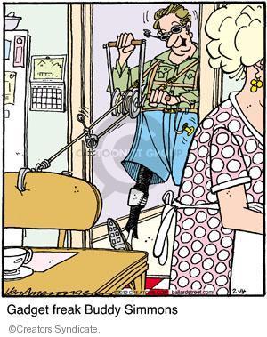 Cartoonist Jerry Van Amerongen  Ballard Street 2012-02-14 hobby
