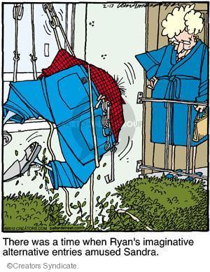Comic Strip Jerry Van Amerongen  Ballard Street 2012-02-17 husband and wife
