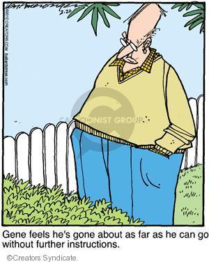 Cartoonist Jerry Van Amerongen  Ballard Street 2012-02-20 direction