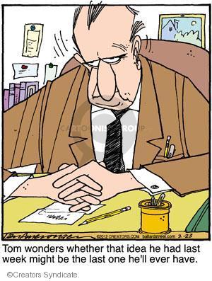 Comic Strip Jerry Van Amerongen  Ballard Street 2012-02-23 one
