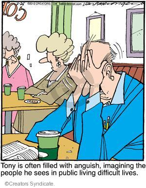 Comic Strip Jerry Van Amerongen  Ballard Street 2012-02-25 sympathy