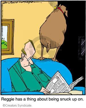 Comic Strip Jerry Van Amerongen  Ballard Street 2012-03-01 paranoia