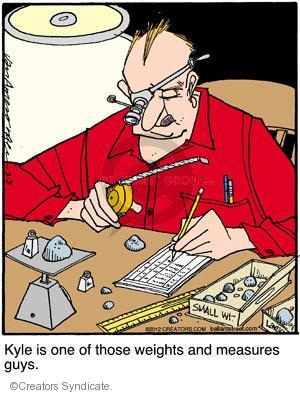 Comic Strip Jerry Van Amerongen  Ballard Street 2012-03-03 measure