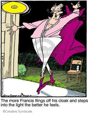 Comic Strip Jerry Van Amerongen  Ballard Street 2012-03-06 clothes