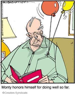 Comic Strip Jerry Van Amerongen  Ballard Street 2012-03-08 himself