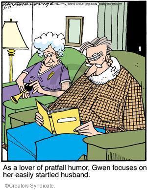 Cartoonist Jerry Van Amerongen  Ballard Street 2012-03-17 focus
