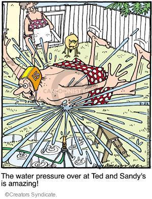 Comic Strip Jerry Van Amerongen  Ballard Street 2012-03-22 over
