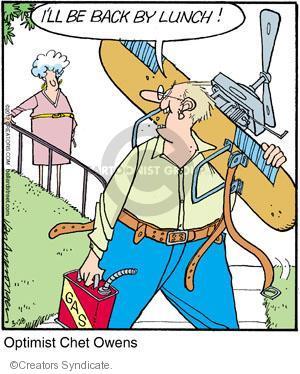 Comic Strip Jerry Van Amerongen  Ballard Street 2012-03-28 dangerous